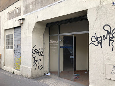 GRAND LOCAL COMMERCIAL / A VENDRE / BELLE DE MAI / 13003 MARSEILLE