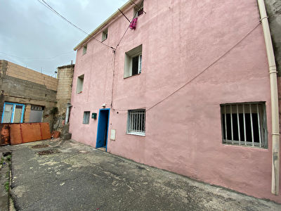 IMMEUBLE A VENDRE 5 LOTS OCCUPES ST MAURONT 13003 MARSEILLE